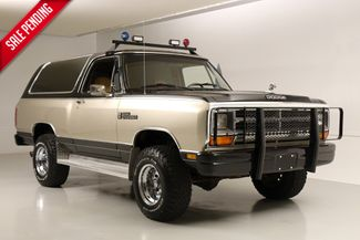 1986 Dodge Ram Charger Only 97k Miles, 4x4*Leather* Custom Wheels* AC*   Plano, TX   Carrick's Autos in Plano TX