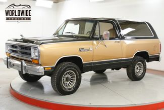 1986 Dodge RAMCHARGER 150 ROYAL SE 4X4 PS PB RARE | Denver, CO | Worldwide Vintage Autos in Denver CO