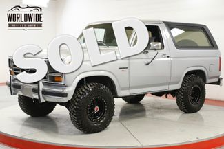 1986 Ford BRONCO  CA TRUCK LIFT CUSTOM WHEELS BILSTEIN | Denver, CO | Worldwide Vintage Autos in Denver CO