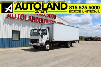 1986 Ford Cargo box truck with tommy gate in Roscoe, IL 61073