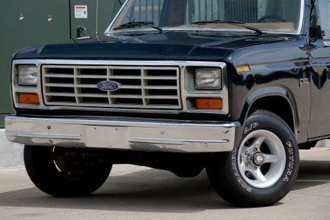 1986 Ford F-Series Pickup 4X4* MANUAL* RARE TRUCK* | Plano, TX | Carrick's Autos in Plano, TX