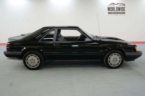 1986 Ford MUSTANG SVO STOCK TURBO CHARGED 74K ORIGINAL MILES | Denver, CO | Worldwide Vintage Autos in Denver, CO