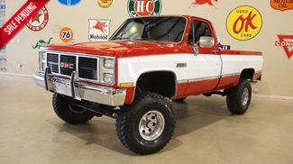 1986 GMC SIERRA C1500 REG CAB 4X4,V8,LIFTED,AUTO,CLOTH,73K in Carrollton, TX 75006