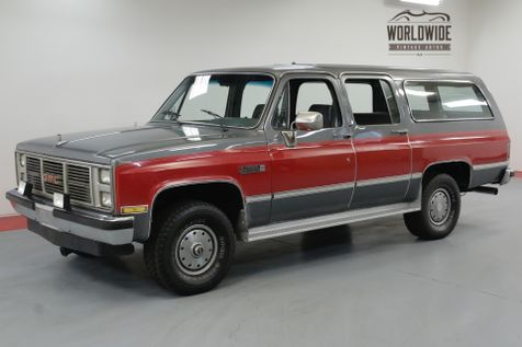 1986 GMC SUBURBAN 4x4. COLLECTOR GRADE TIME CAPSULE. 1 OWNER! | Denver, CO | Worldwide Vintage Autos in Denver, CO