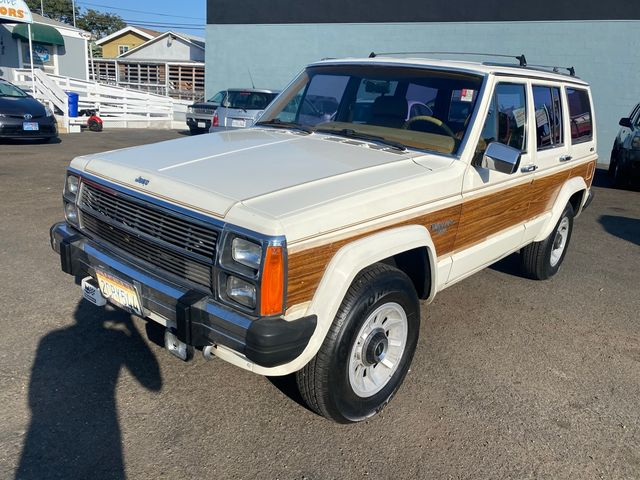 1986 Jeep CHEROKEE WAGONEER LIMITED 4WD XJ - 1 OWNER, NO ACCIDENTS, CLEAN TITLE,W/ 91,897 MILES in San Diego, CA 92110