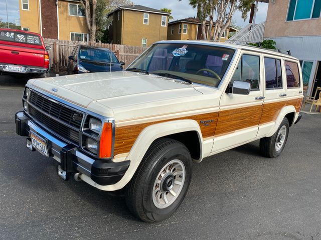 1986 Jeep CHEROKEE XJ WAGONEER LIMITED 4WD - 1 OWNER, CLEAN TITLE, NO ACCIDENTS, W 91,899 MILES