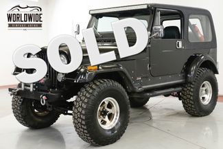 1986 Jeep CJ7 4x4 CUSTOM 383 STROKER FUEL INJECTED 6K MILES | Denver, CO | Worldwide Vintage Autos in Denver CO