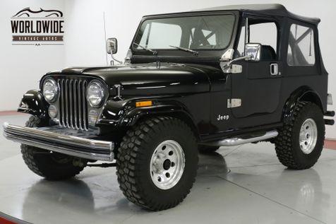 1986 Jeep CJ7 NEW JASPER CRATE MOTOR! RARE AC! AUTO! CJ5  | Denver, CO | Worldwide Vintage Autos in Denver, CO