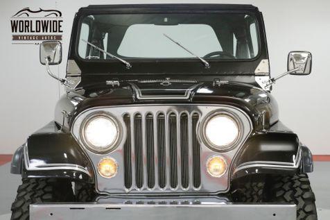 1982 Jeep CJ5   LAREDO REBUILT | Denver, CO | Worldwide Vintage Autos in Denver, CO