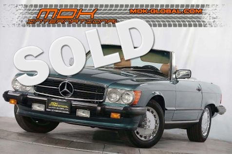 1986 Mercedes-Benz 560 Series 560SL - Only 91K miles - Soft / Hard tops in Los Angeles