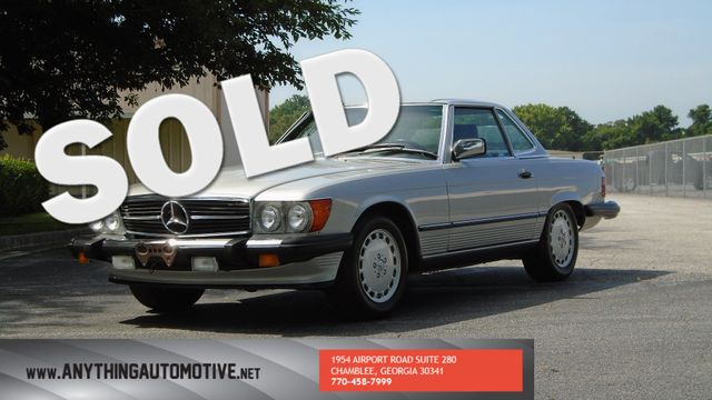 1986 Mercedes-Benz 560 Series 560SL Chamblee, Georgia