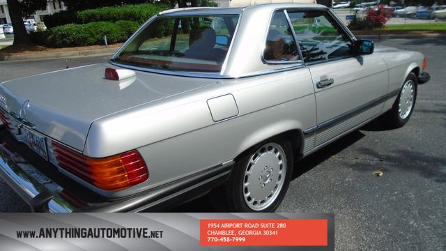 1986 Mercedes-Benz 560 Series 560SL Atlanta, Georgia 19