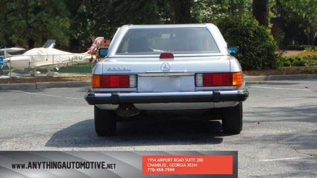 1986 Mercedes-Benz 560 Series 560SL Atlanta, Georgia 3
