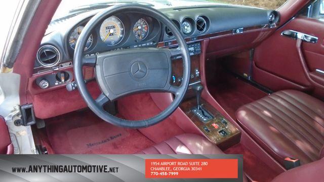 1986 Mercedes-Benz 560 Series 560SL Atlanta, Georgia 35