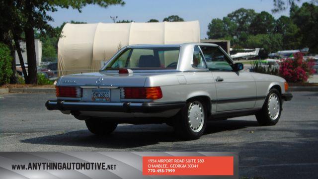 1986 Mercedes-Benz 560 Series 560SL Atlanta, Georgia 4