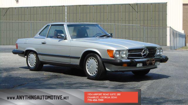 1986 Mercedes-Benz 560 Series 560SL Atlanta, Georgia 6