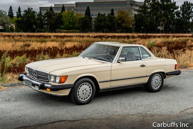 1986 Mercedes-Benz 560 Series 560SL   Concord, CA   Carbuffs