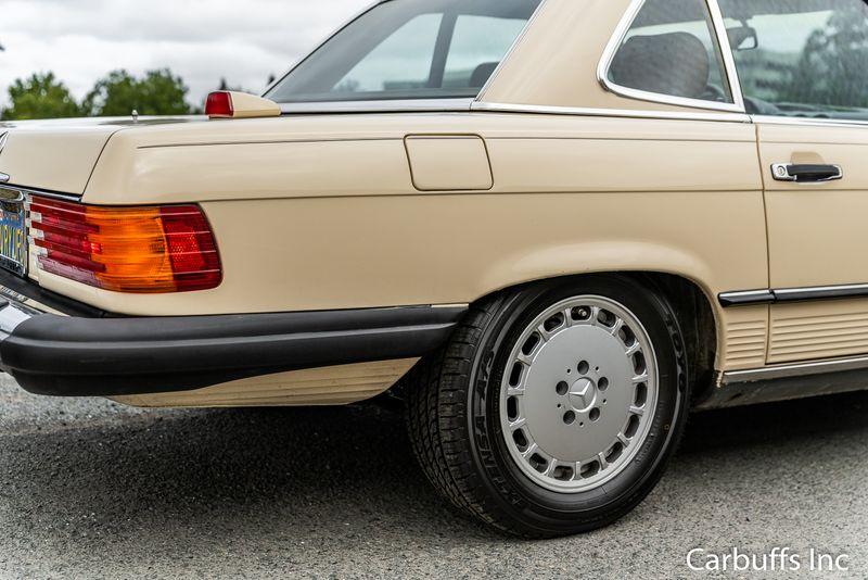 1986 Mercedes-Benz 560 Series 560SL   Concord, CA   Carbuffs in Concord, CA