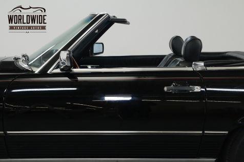 1986 Mercedes Benz 560SL TRIPLE BLACK! IMMACULATE. LOW MILES. COLD A/C. | Denver, CO | Worldwide Vintage Autos in Denver, CO