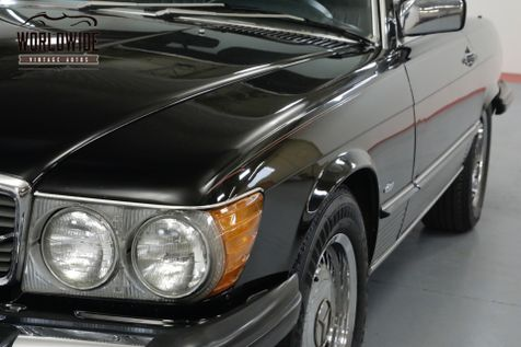 1986 Mercedes-Benz 560SL TRIPLE BLACK! IMMACULATE. LOW MILES. COLD A/C. | Denver, CO | Worldwide Vintage Autos in Denver, CO