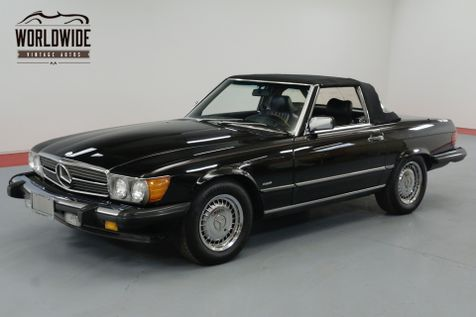 1986 Mercedes Benz 560 SERIES TRIPLE BLACK! IMMACULATE. LOW MILES. COLD A/C. | Denver, CO | Worldwide Vintage Autos in Denver, CO