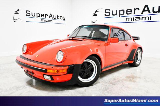 1986 Porsche 911 Turbo Coupe RUF