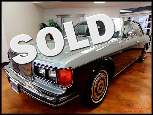 1986 Rolls-Royce Silver Spur San Diego, California 0