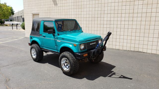 1986 Suzuki Samurai 4WD Deluxe II Phoenix, Arizona 12