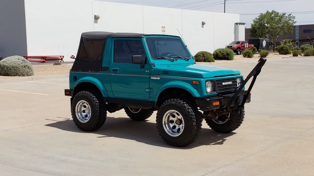 1986 Suzuki Samurai 4WD Deluxe II Phoenix, Arizona 7