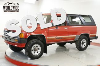 1986 Toyota 4RUNNER  CA TRUCK 4x4 TIME CAPSULE COLLECTOR LOW MI   Denver, CO   Worldwide Vintage Autos in Denver CO