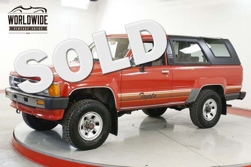 1986 Toyota 4RUNNER  CA TRUCK 4x4 TIME CAPSULE COLLECTOR LOW MI | Denver, CO | Worldwide Vintage Autos