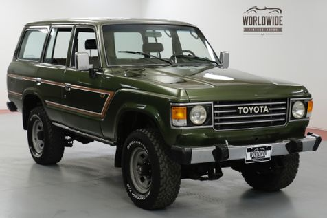 1986 Toyota LAND CRUISER FJ60/62 RESTORED COLLECTOR. 4x4. AC GORGEOUS  | Denver, CO | Worldwide Vintage Autos in Denver, CO