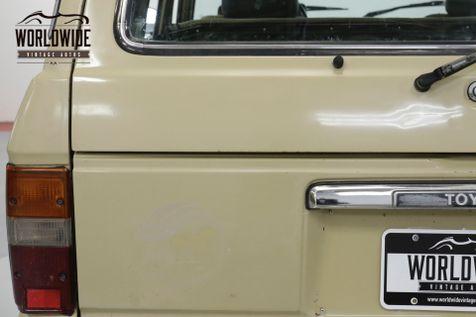 1986 Toyota LAND CRUISER FJ60 RARE 4x4 PS PB VINTAGE COLLECTOR FJ62   | Denver, CO | Worldwide Vintage Autos in Denver, CO