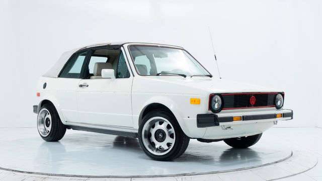 1986 Volkswagen Cabriolet in Dallas, TX 75229