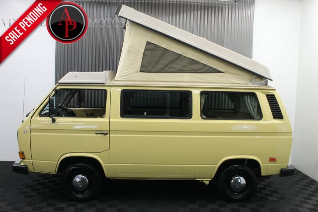 1986 Volkswagen Vanagon/Campmobile WESTFALIA WEEKENDER POP TOP