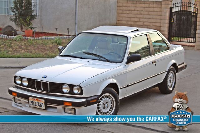 1987 BMW 3 Series 325ES COUPE MANUAL LEATHER SUNROOF ALLOY WHLS