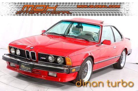 1987 BMW 6 Series M6 - Dinan Turbo - Only 66K miles in Los Angeles