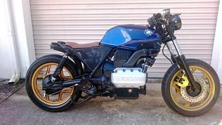 1987 BMW K75 BRAT STYLE CUSTOM MOTORCYCLE Mendham, New Jersey