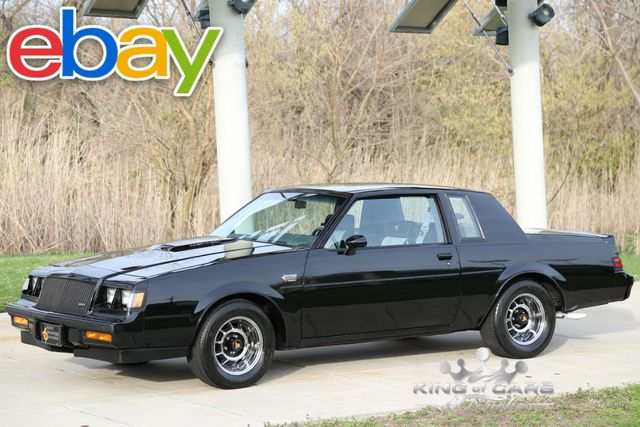 1987 Buick Grand National Hardtop 26K ACTUAL MILES TIME CAPSULE MINT
