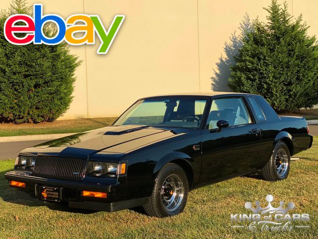 1987 Buick Grand National HARDTOP ONLY 13K ACTUAL MILES TURBO MINT