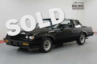 1987 Buick REGAL WE-4 GRAND NATIONAL 2091 ORIGINAL MILES | Denver, CO | Worldwide Vintage Autos in Denver CO