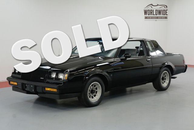 1987 Buick REGAL WE-4 GRAND NATIONAL 2091 ORIGINAL MILES   Denver, CO   Worldwide Vintage Autos in Denver CO