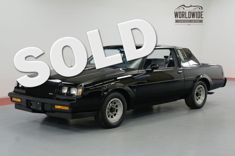 1987 Buick REGAL WE-4 GRAND NATIONAL 2091 ORIGINAL MILES | Denver, CO | Worldwide Vintage Autos