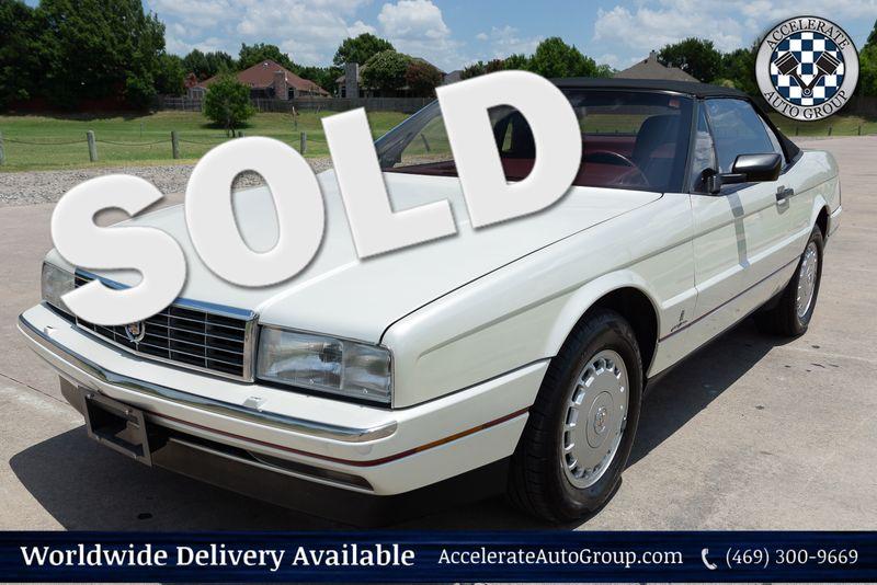 1987 Cadillac Allante' Convertible in Rowlett Texas