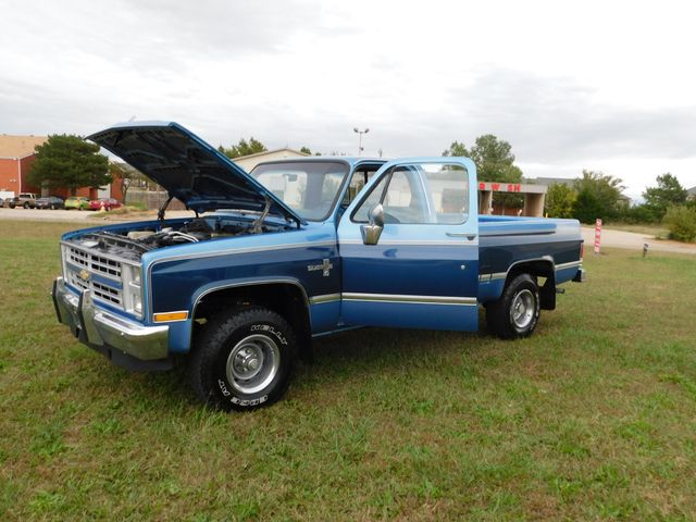 1987 Chevrolet 1/2 Ton Pickups Silverado 1500