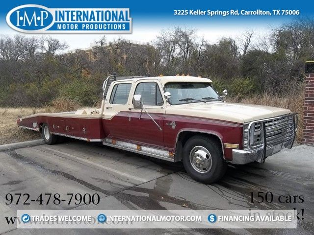 1987 Chevrolet 1 Ton Chassis-Cabs