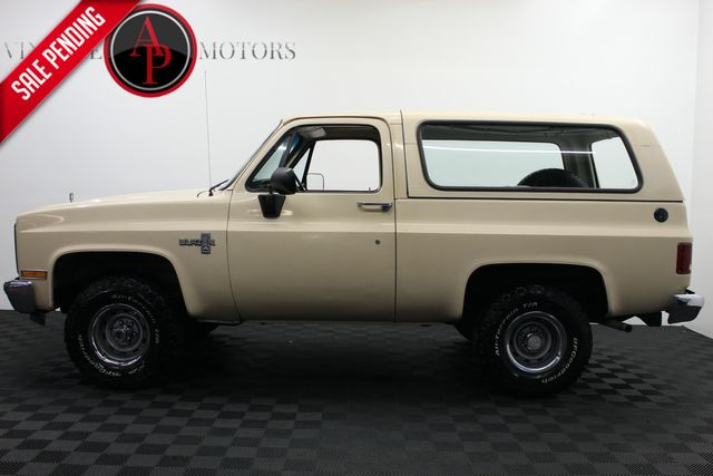 1987 Chevrolet Blazer FUEL INJECTED V8 4X4 REMOVABLE HARD TOP