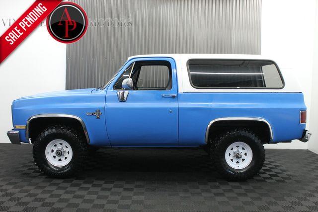 1987 Chevrolet Blazer 4 SPEED MANUAL V8 AZ TRUCK