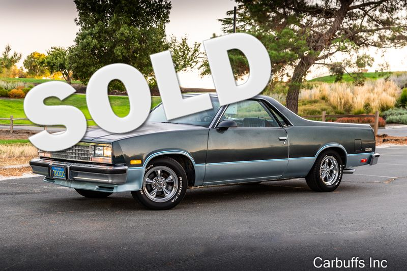 1987 Chevrolet El Camino    Concord, CA   Carbuffs