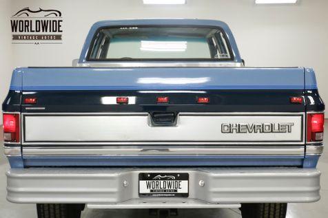 1987 Chevrolet K30 C30 SILVERADO 4x4 RARE CREW CAB AC COLLECTOR    Denver, CO   Worldwide Vintage Autos in Denver, CO